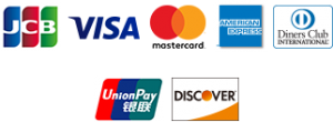 各種クレジットカードを取り扱っています